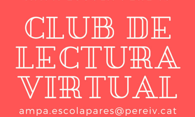 Club de lectura virtual per a adults